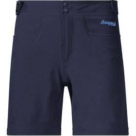 Bergans Cecilie Climbing Shorts Dame navy melange/cloud blue